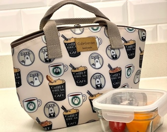 Insulated Lunch Bag or Snack Bag for Kids/Woman/Adult