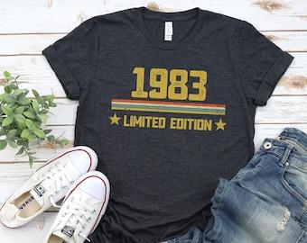 38th Birthday Shirt,Vintage 1983 Shirt,38th Birthday Gift For Women,38th Birthday Gift For Men,38th Birthday Best Friend,38th Birthday Woman