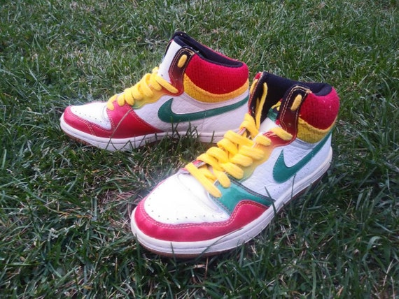 Nike Reggae Court Force rare vintage high tops