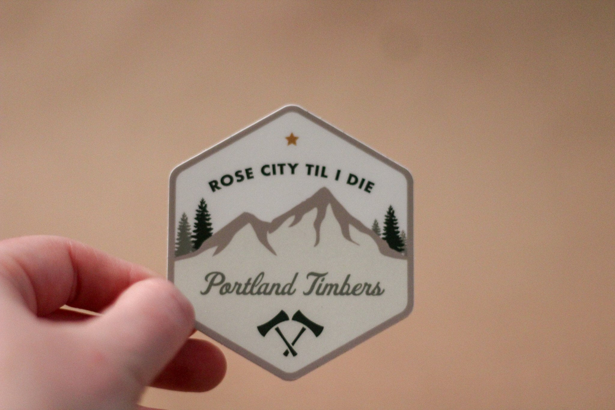Portland timbers stickers mls timbers portland oregon soccer vinyl stickers rose city till i die rose city green and gold