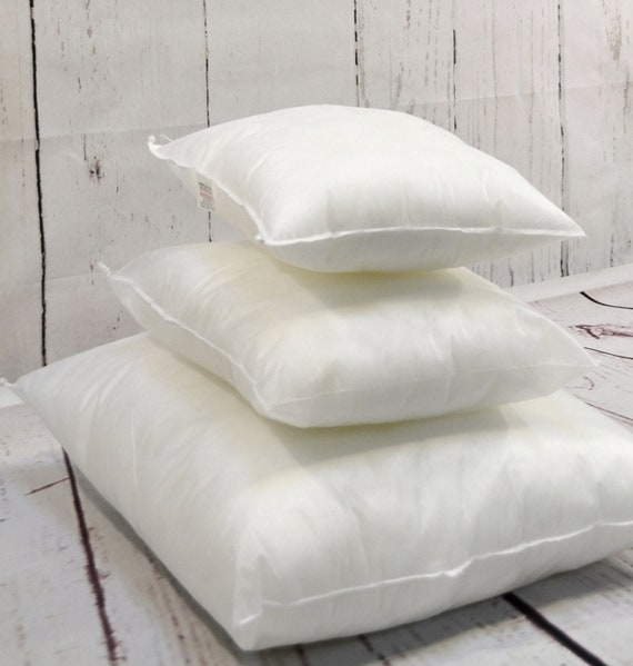 """DUCK FEATHER CUSHION PADS INNERS INSERTS FILLERS SCATTERS 16/"""" 18/"""" 20/"""" 22/"""" 24/"""""""