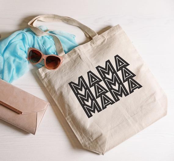 Mother Tote Bag Aint No Hood Like Motherhood Mom Canvas Bag Gift For Mom Mom Birthday Gift Boss Mom Gift Mothersday Gift