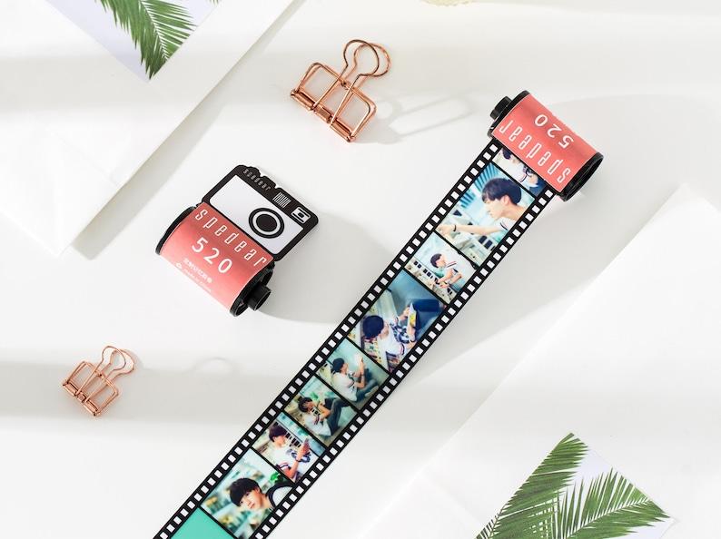Rose red photo custom film album gift custom personalized photo Christmas gift birthday gift for her