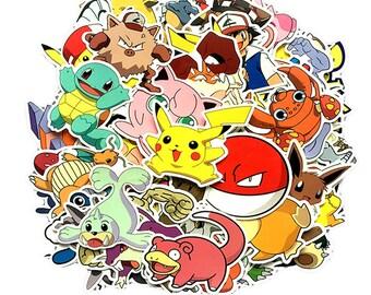 Stickers Pokemon.Pokemon Stickers Etsy