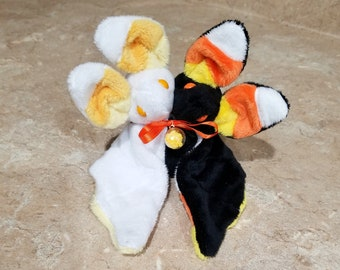Candy Corn Two-Headed Bat *LIMTED EDITION* | Halloween | Spooky | Plushie |