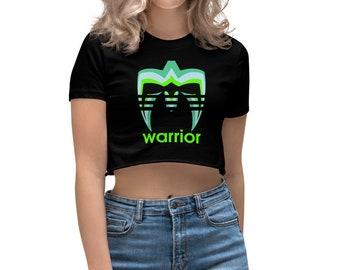 05836da37ffb The Ultimate Warrior Face Paint Women's Crop Top