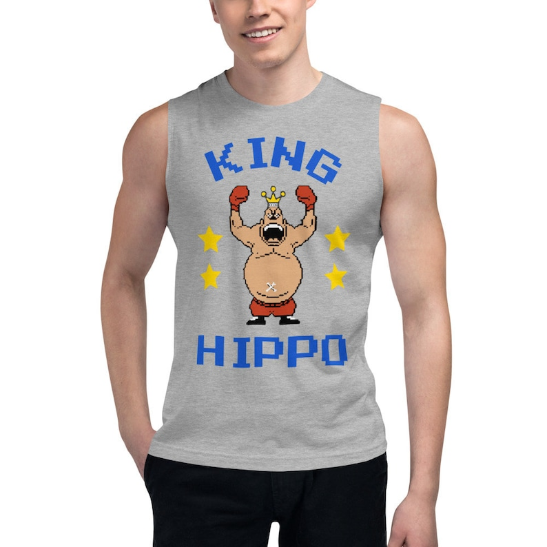 Mike Tysons Punchout King Hippo T-Shirt ADULT XL