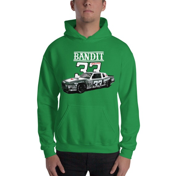 Harry Gant #33 Skoal Bandit Buick Regal Race Car Unisex Hoodie