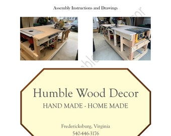 Woodworker Bench - Design Plans and Assembly Instructions