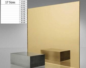 3mm Black Acrylic Mirror Sheet 20 cm x 30 cm 7.8 inch x 11.8 inch
