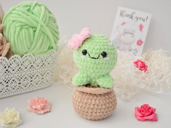 12 Crochet Cactus Tutorial - Creative Ideas | 425x570