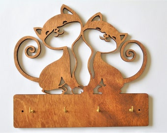 Cat Key Holder Etsy