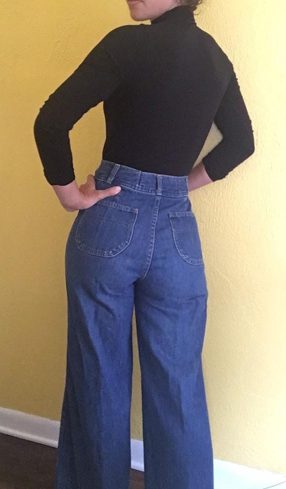 1970s High waist Levis jeans