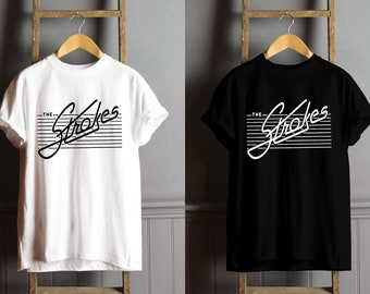 90f50773 The Strokes Logo T Shirt, The Strokes Shirt, The Strokes Clothing Unisex
