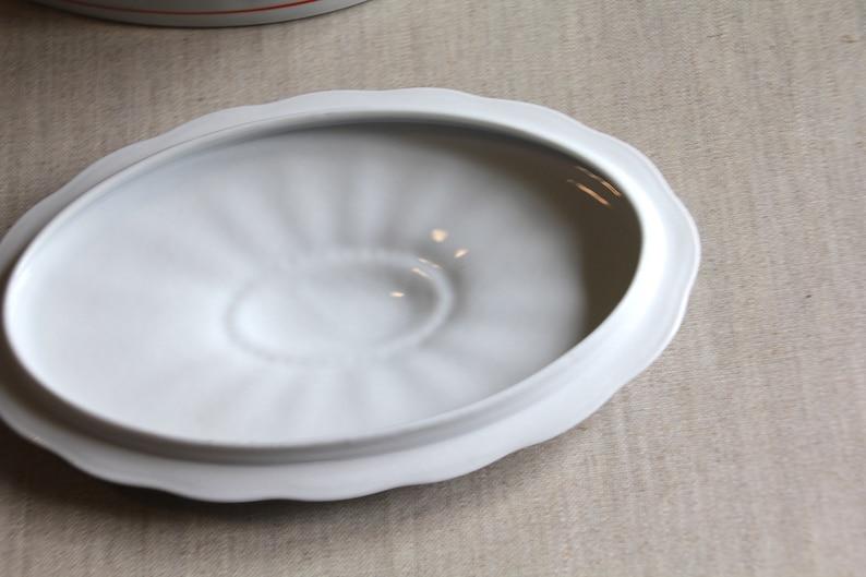 Porcelain Lid Can Spray Decor 20s 30s Art Deco