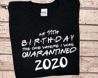 Quarantine Birthday Etsy