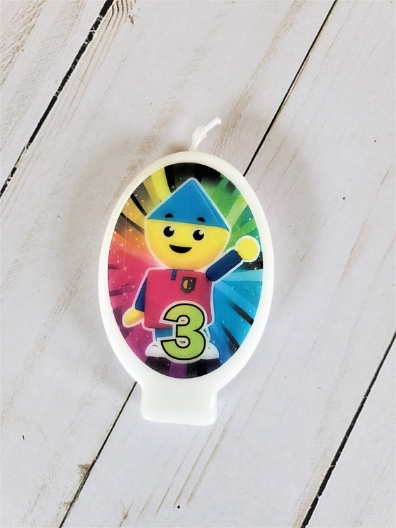 birthday party favor cake 24 CHARLIE/'s COLORFORMS CITY Rings cupcake toppers