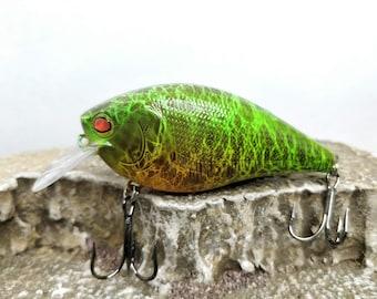 5-34 Wooden JerkbaitCrankbait Fishing Lure for Musky and Pike