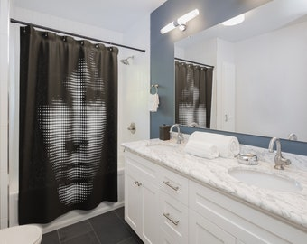 04f70ec7c0e3d Jim MORRISON SHOWER CURTAINS