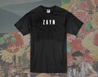 7d1e5466 Zayn Malik T Shirt, Merch, Music Tees, Shirt, Unisex