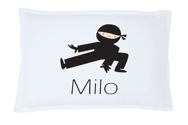 Personalized Kid/'s Karate Milo  Pillowcase Microfiber Polyester 20 by 30 Inches Customized Gifts for Kids