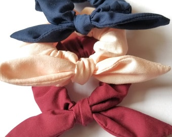 Mini knot bow scrunchies 9ff5e1e9d25