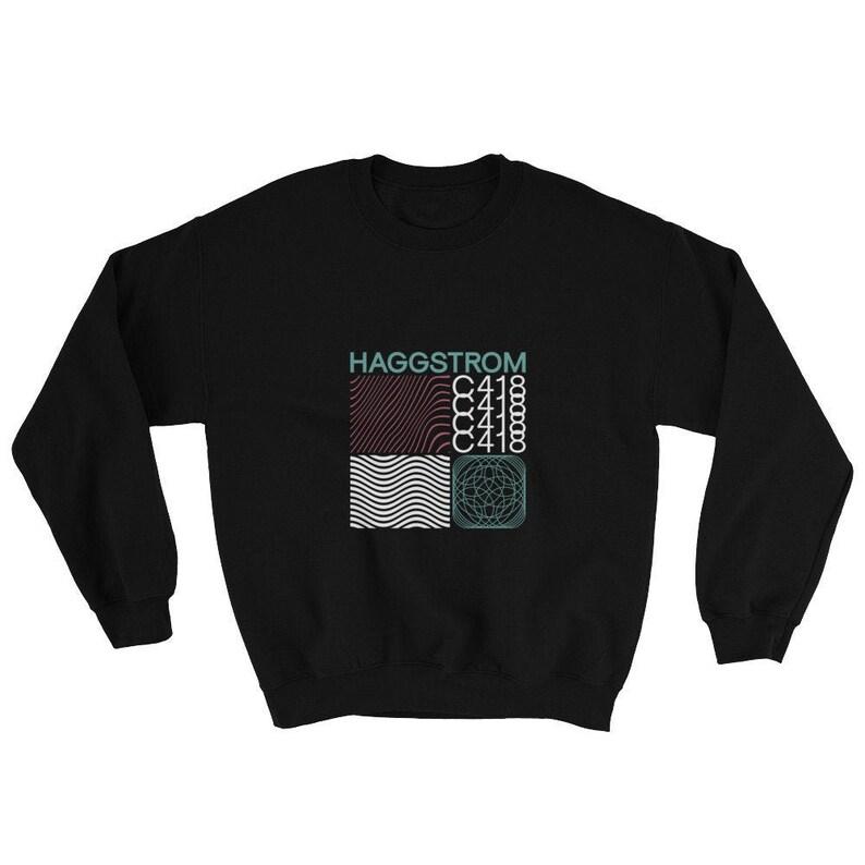 Haggstrom® Minecraft Music Aesthetic Modernism Cover Unisex Sweatshirt