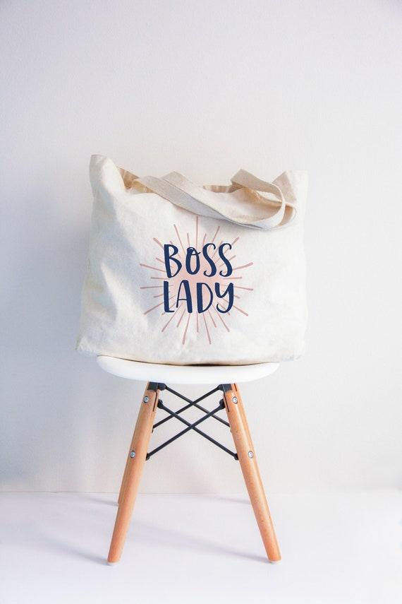 Boss Lady XL tote bag