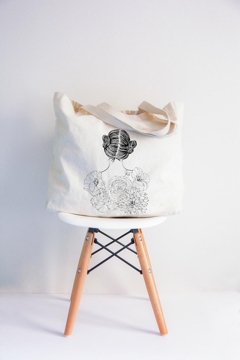 Frida XL tote bag