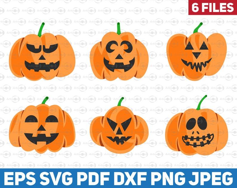 Spooky Face 1 SVG dxf Pumpkin face svg Cute Face SVG pumpkin faces svg Spooky svg skeleton face svg halloween svg Jack o lantern svg