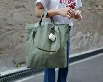 GREEN MOSS Ultralight waterproof tote bag
