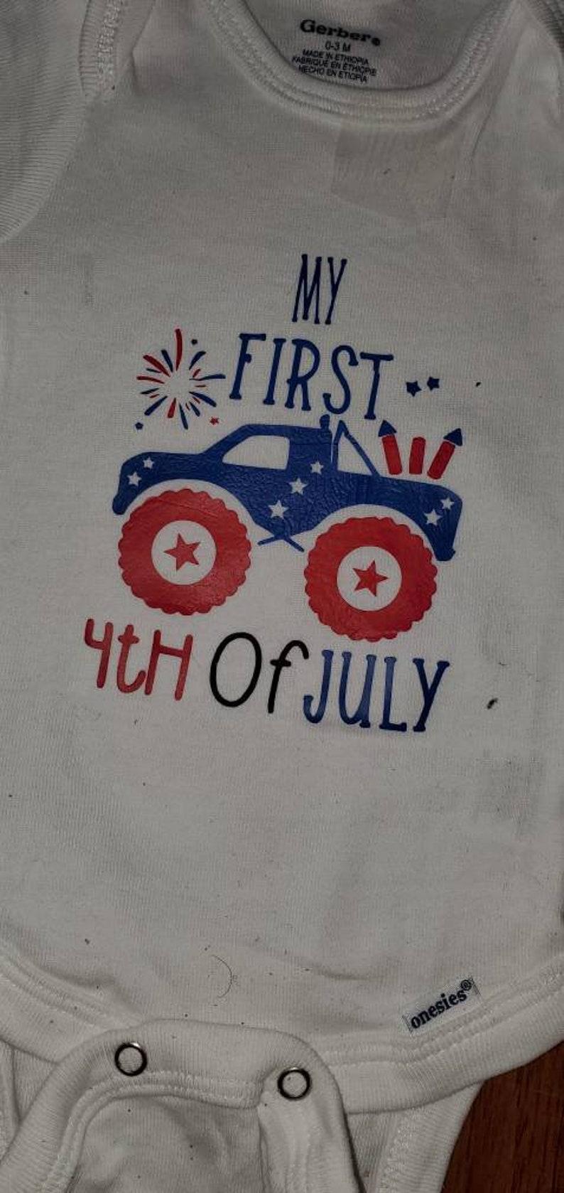 4TH Of July Onsesie