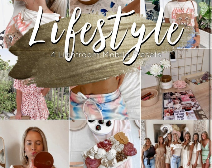 Lifestyle • 4 Lightroom Mobile Presets