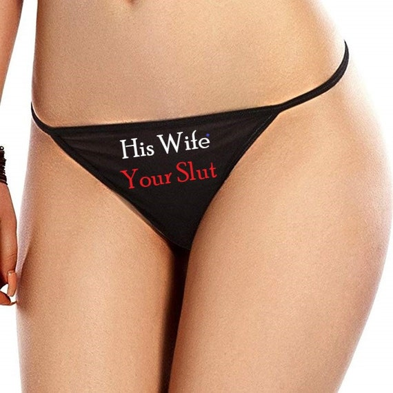 Wife Thong Panties Gif