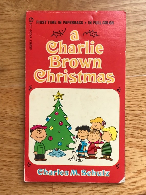 A Charlie Brown Christmas Book.A Charlie Brown Christmas