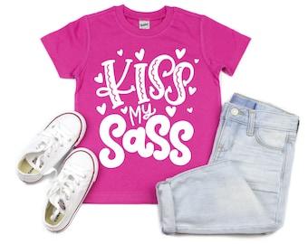 b2c28430 Kiss My Sass Girls Shirt, Sassy Pants Shirt, All My Pants are Sassy, Girls  Sassy Pants Shirt, Sassy Toddler Shirt, Southern Sass, Sassy Girl