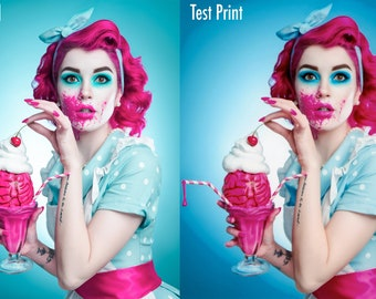 "Test Print - ""Zombie Housewife"""