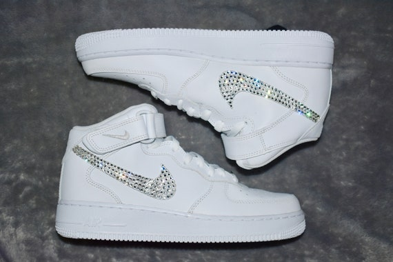 Nike Air Force 1 Swarovski Black