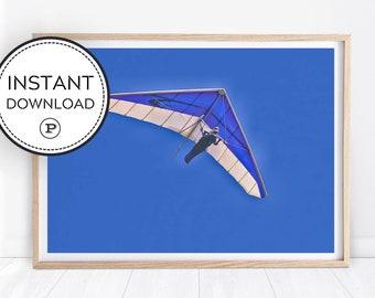 Hang gliding art | Etsy