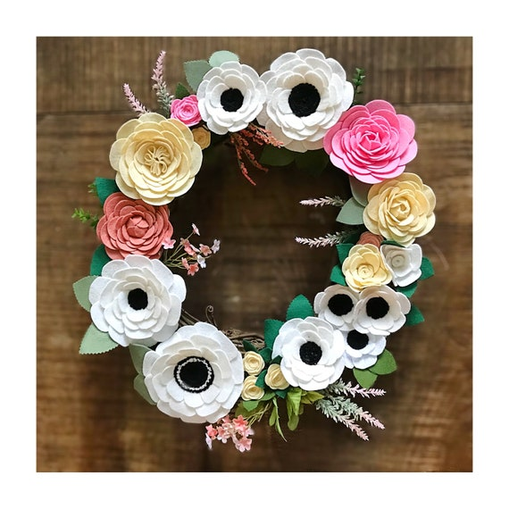 14 Flower Wreath