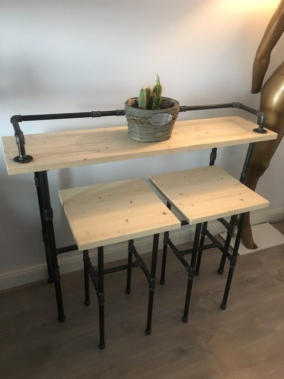 Stupendous Wooden Sofa Bar Table Industrial Wood Bar Table Buffet Table Reclaimed Wood Table Long Sofa Table Entry Hall Table Behind Couch Table Pabps2019 Chair Design Images Pabps2019Com