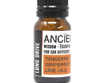 Long Drive - Essential Oil Car Blend - 10ml Bottle