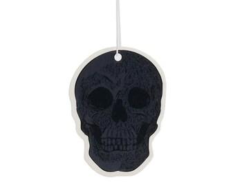 Black Skull Vanilla Scented Air Freshener