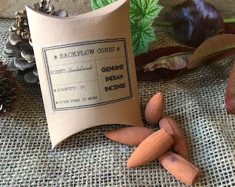 Sandalwood Backflow Incense Cones