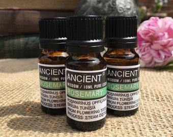 Rosemary Essential Oil - 10ml Bottle