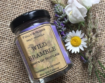 Wild Bramble Candle - Scents of Scotland Collection - 2oz Jar