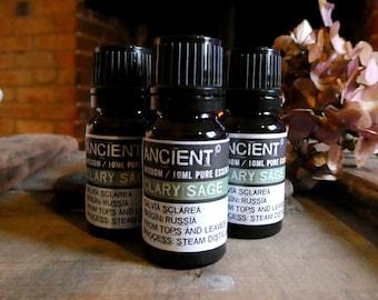 Clary Sage Essential Oil - 10ml Bottle