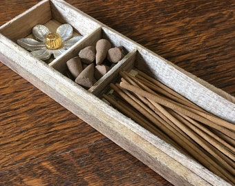 Vanilla Fig and Honeycomb Incense Gift Set by Zen Aromas