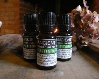 Petitgrain Essential Oil - 10ml Bottle