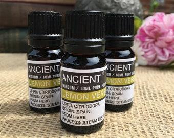 Lemon Verbena Essential Oil - 10ml Bottle
